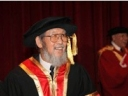 张树庭教获授香港中文大學榮譽院士