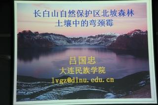 主题报告:吕国忠,长白山自然保护区北坡森林土壤中的弯颈霉 (4)
