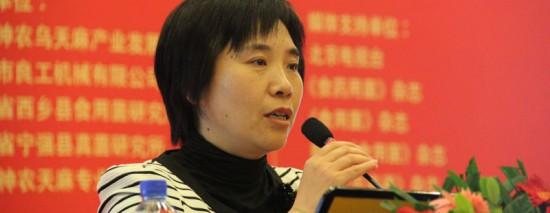 李雪红:2013年北京昌平区天麻产量预计将达到10万斤