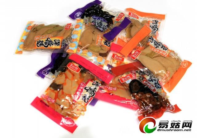 馋嘴菇系列休闲产品照片