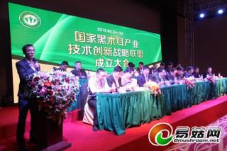 国家黑木耳产业技术创新战略联盟成立大会
