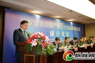 陈惠:用平台思维来推动食药用菌产业转型升级