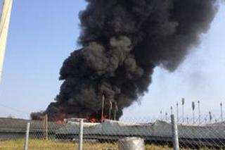 台中2400坪香菇棚发生火灾 菇农称损失逾千万