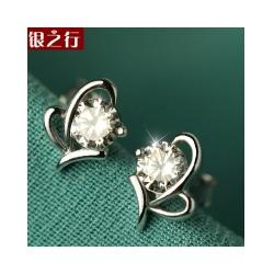 宿迁新款的银耳钉供应|银耳环防过敏