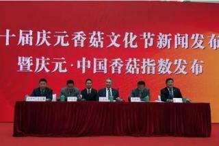 庆元举行庆元·中国香菇指数发布仪式