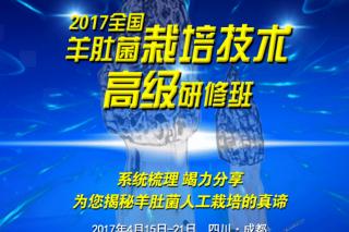 2017第二期全国羊肚菌栽培技术高级研修班