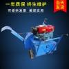 小型卧式柴油机拌料翻堆机 柴油机动力食用菌自走式拌料机
