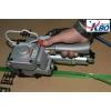25mm塑钢带专用气动打包机 气动免扣式打包机