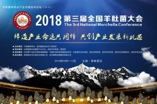 2018第三届全国羊肚菌大会通知