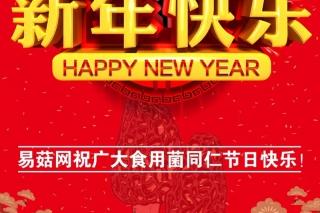 易菇网祝广大金沙城国际娱乐同仁新年快乐!