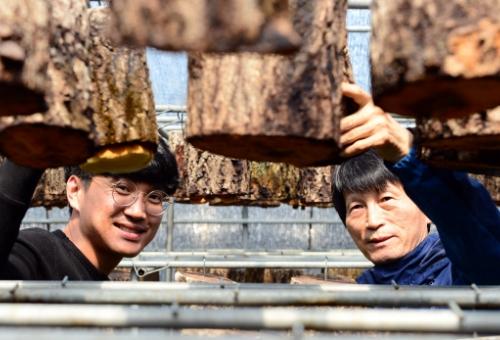 [경제인터뷰]지리산 새희망 상황버섯