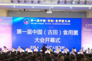 福建日报:第一届中国食用菌大会昨日在古田开幕