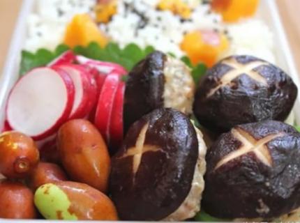 香菇塞肉红薯饭--这才是真正意义上的荤素搭配,营养补充没的说