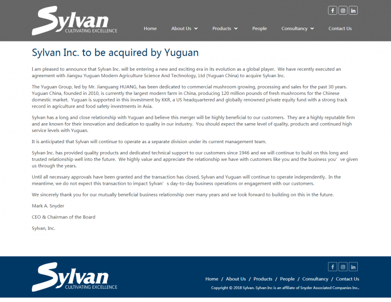 Sylvan Inc. to be acquired by Yuguan _ Sylvan