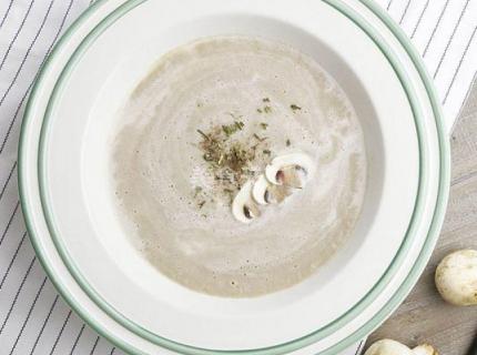 西餐店里好喝的奶油蘑菇汤,真的没有想象的那么难做!