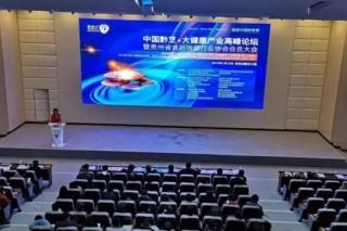 中国黔芝+大健康产业高峰论坛在惠水县百鸟河数字小镇举行