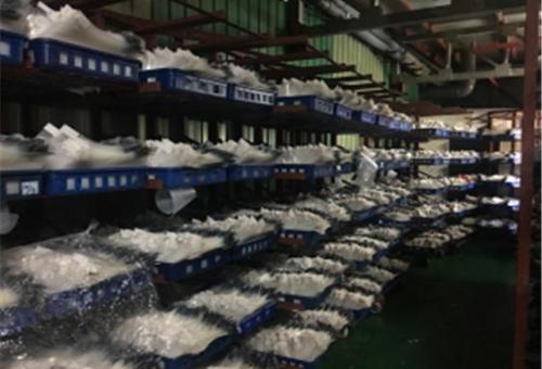 팽이버섯 고깔세척장치 개발, 안전생산 가