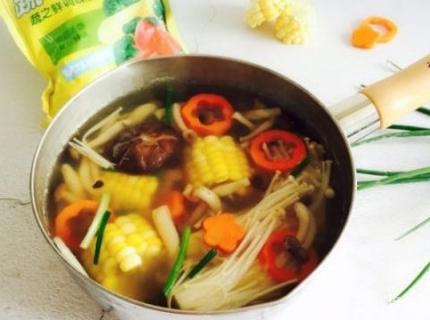 减肥食谱,低脂菌菇汤,简单美味营养,关键是吃不胖,试试吧