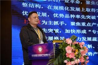 朱国胜:华东片区认识及消费大球盖菇早于西部  市场体系有待完善
