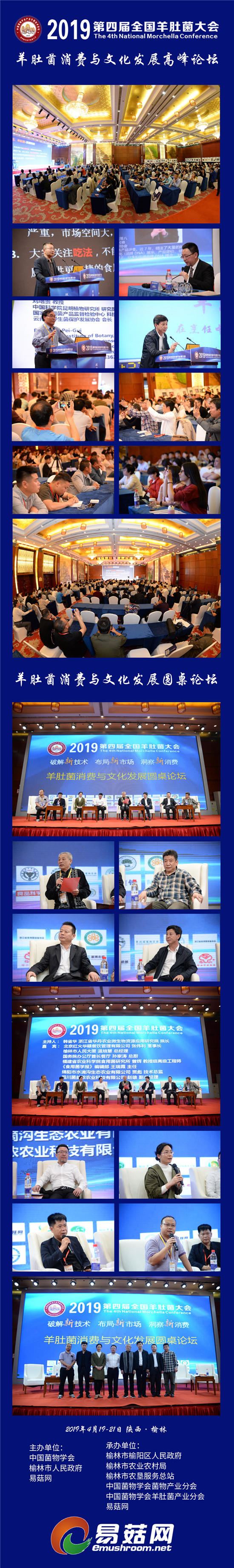 2019羊肚菌会议--羊肚菌消费与文化发展高峰论坛拼图