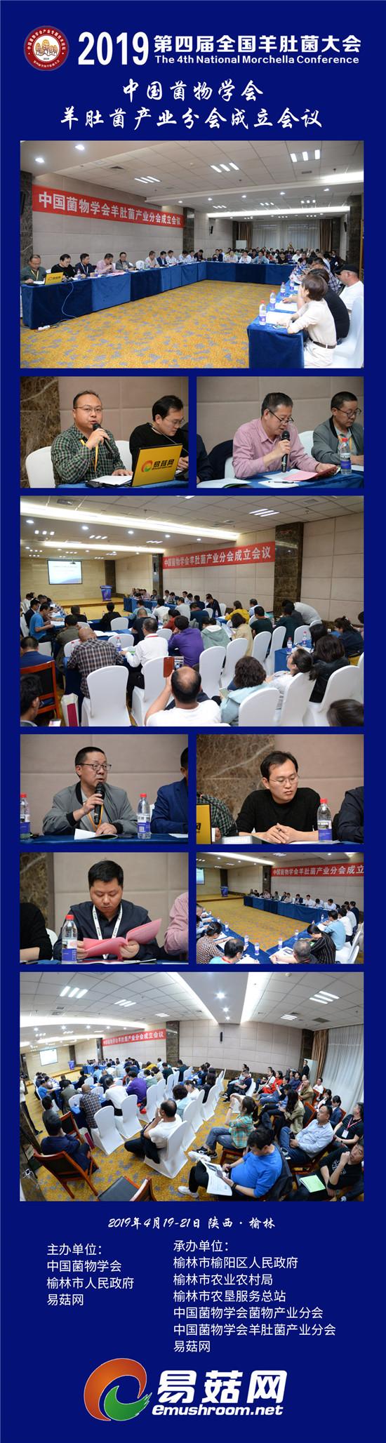 2019羊肚菌会议--中国菌物学会羊肚菌产业分会成立会议
