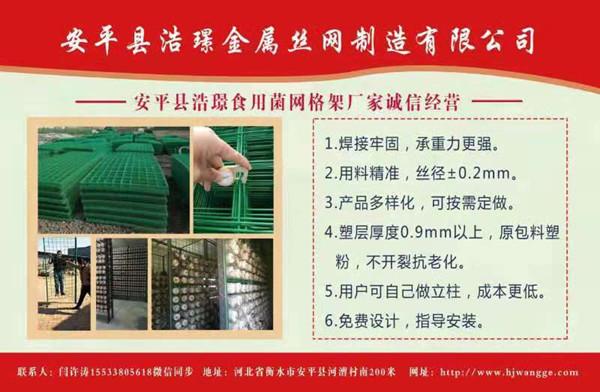 食用菌网格架