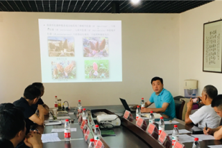 2019武汉种业博览会食用菌专题会议在武汉市农科院蔬菜所召开 ()