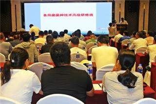 全国食用菌菌种技术高级研修班在河北平泉举行 ()
