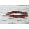 硅胶线滚封PT100防水温度传感器工厂