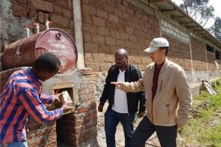 埃塞俄比亚的中国蘑菇王 ()