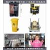 浙江塑料注塑模具厂家日式塑胶户外垃圾桶模具开模定制