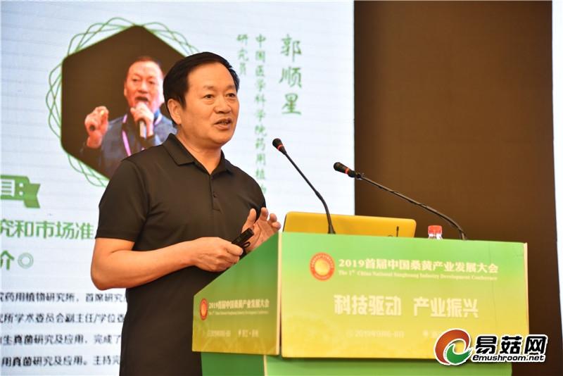 郭顺星 :桑黄研究和市场准入相关问题探讨