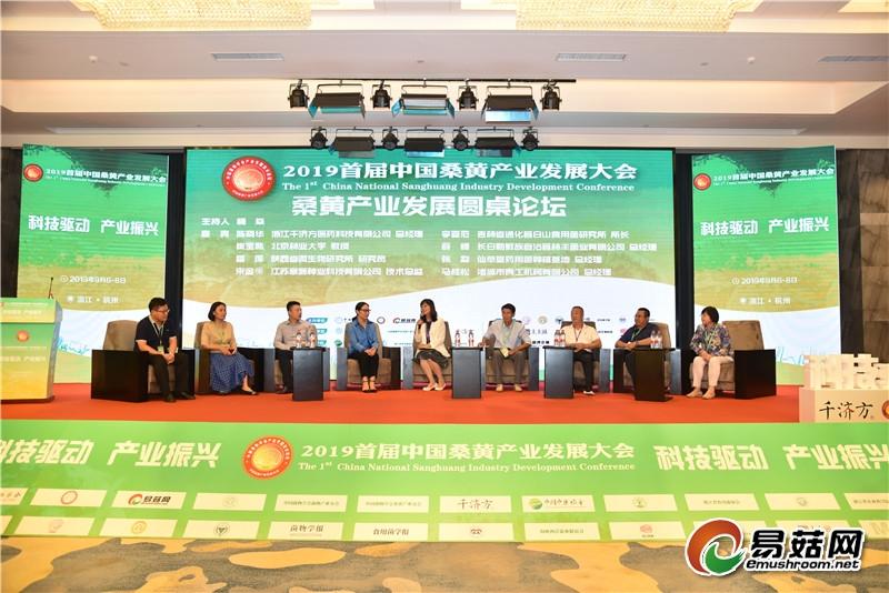 桑黄产业发展圆桌论坛