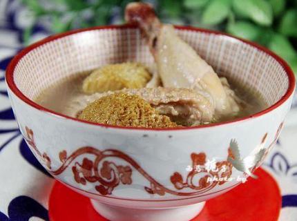 猴頭菇雞湯