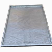 烘干机专用不锈钢筛网 电镀镀锌防锈筛子 烘烤箱托盘