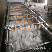 现货供应5000*800不锈钢萝卜丝气泡清洗机设备
