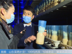"""山东友和、恒信生物、利马菌业向湖北捐赠100吨""""邹城蘑菇"""" ()"""